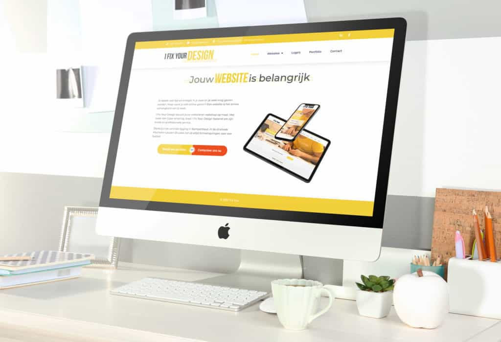 Prijs website bij I Fix Your Design